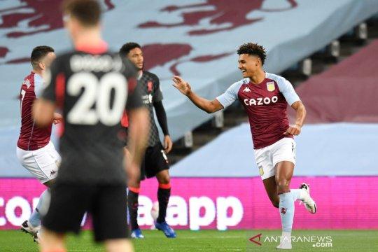 Liga Inggris: Aston Villa unggul 4-1 atas Liverpool di babak pertama