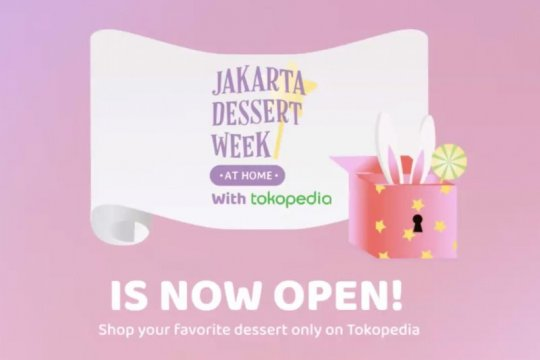 Jakarta Dessert Week 2020 hadir di Tokopedia mulai 5-25 Oktober