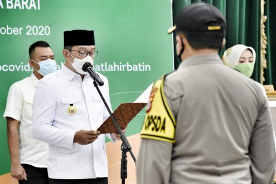 Ridwan Kamil kukuhkan Komite Kebijakan Penanganan COVID-19