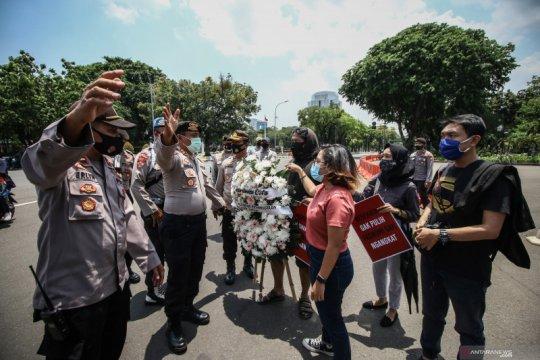 Aksi protes pengangkatan anggota eks Tim Mawar