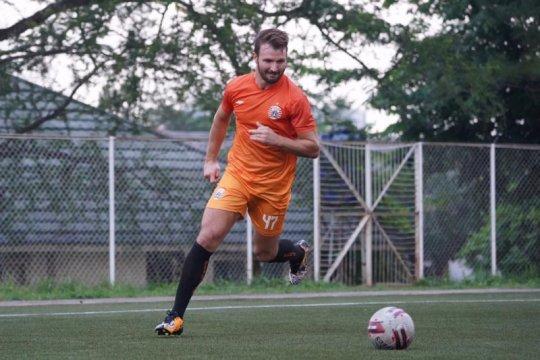 Marco Motta ikuti latihan perdana setelah Persija libur empat hari