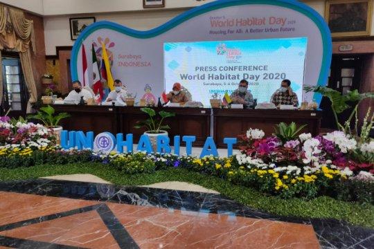 Peringatan Hari Habitat Dunia di Surabaya usung tema pemukiman