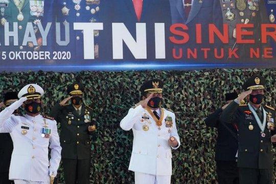 Gubernur Sumsel ajak TNI jaga ketahanan pangan daerah