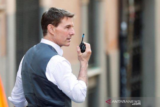 "Tom Cruise lanjutkan syuting ""Mission Impossible 7"" di Roma"