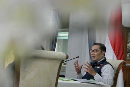 Jadi relawan vaksin, Ridwan Kamil posisikan dirinya sebagai jenderal