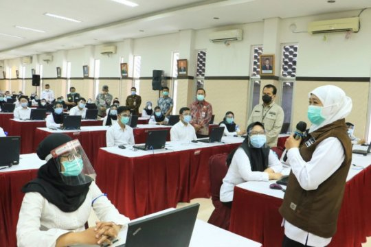 Peserta SKB CPNS positif COVID-19 tetap difasilitasi Pempov Jatim