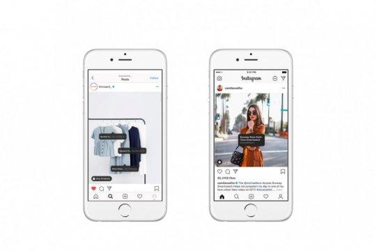 Dukung transformasi digital UMKM, Instagram luncurkan fitur Shopping