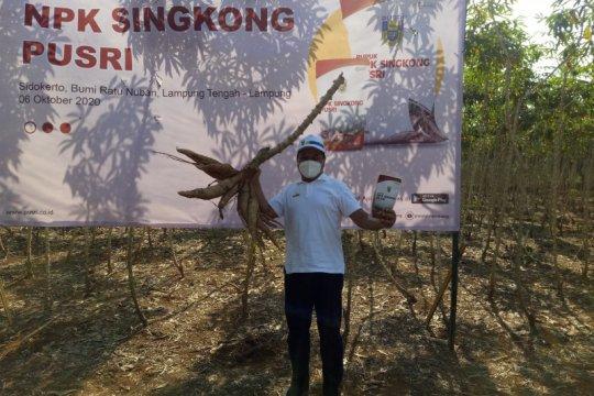 Pusri dukung program Kartu Petani Berjaya Lampung
