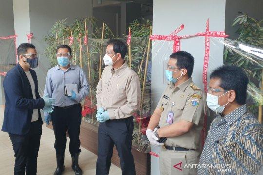 Wakil Ketua DPR RI dan Wagub DKI cek hotel isolasi COVID-19 di Jakpus