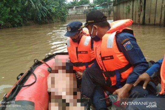 Bocah hanyut di Kali Angke Hulu ditemukan tak bernyawa