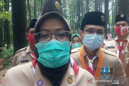 Condong represif tertibkan protokol, Satpol PP ditegur Bupati Bogor