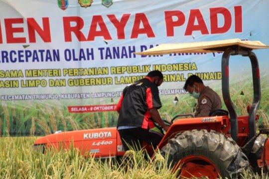 Mentan harapkan Lampung dapat kembangkan pertanian modern