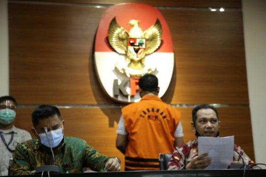 KPK tetapkan Kadis PUPR Lampung Selatan Syahroni tersangka
