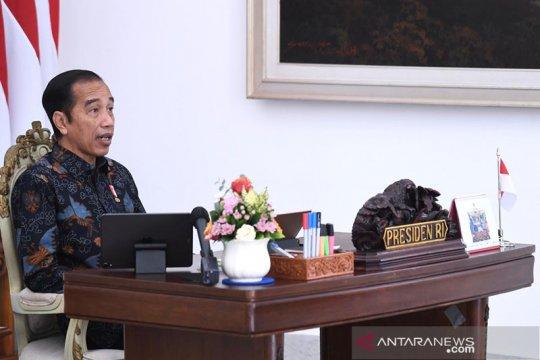 Presiden minta penguatan ekosistem bisnis petani dan nelayan