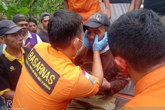 Petani getah damar hilang di hutan Bolaang Mongondow ditemukan tim SAR