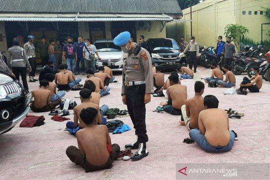 Polresta Jambi tangkap 29 pelajar perusak gedung DPRD Kota Jambi