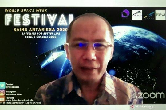 Lapan: Pendidikan daring perlu penguatan satelit komunikasi