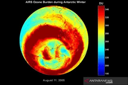 Peneliti sebut lubang ozon Antartika salah satu yang terbesar