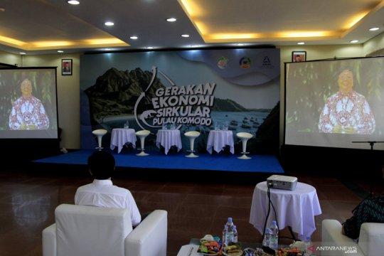 Gerakan ekonomi sirkular di Pulau Komodo-NTT diapresiasi Menteri LHK