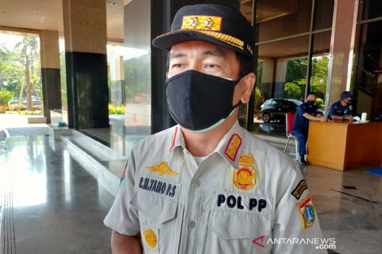 Jakarta Barat tindak tujuh perusahaan pelanggar PSBB Jakarta