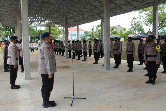 Polda Sumbar kirim ratusan personel Brimob bantu pengamanan di DKI