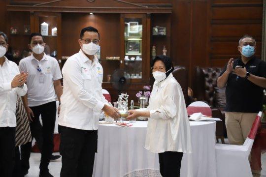 Mensos puji penanganan bantuan sosial di Surabaya