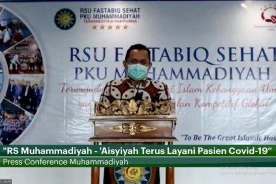 RS Muhammadiyah-Aisyiyah tangani 3.330 pasien terkonfirmasi COVID-19