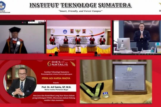 Rektor IPB University raih penghargaan Itera Adi Karsa Madya