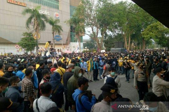 Kapolrestabes apresiasi aksi massa di Palembang berlangsung damai
