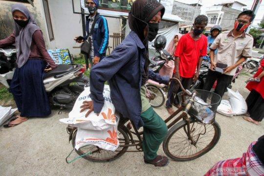 Bantuan sosial beras Kemensos