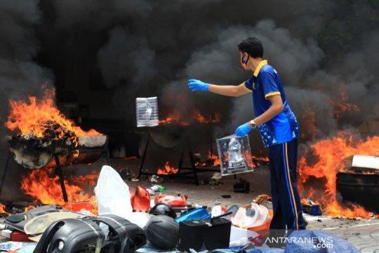 Pemusnahan BMN Bea Cukai DI Yogyakarta