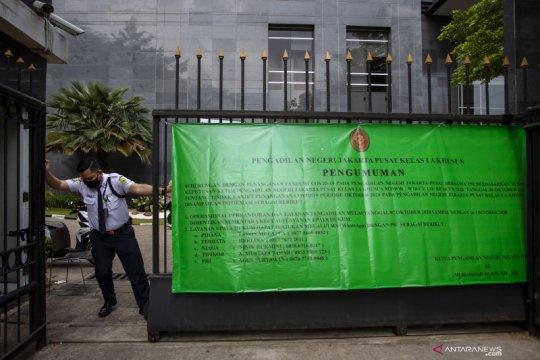 PN Jakarta Pusat tutup akibat COVID-19
