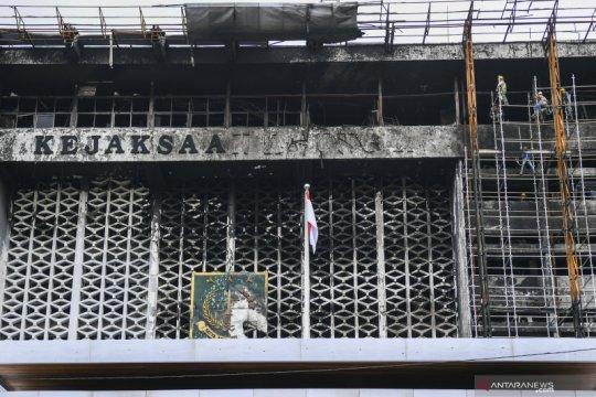 Kejaksaan Agung mulai renovasi gedung utamanya yang terbakar