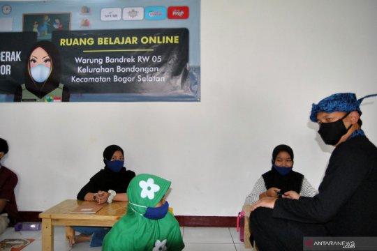 Ruang belajar online di Kota Bogor