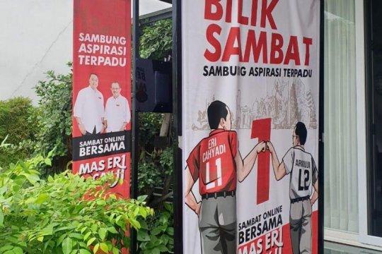 """Eri-Armuji tampung aspirasi warga Surabaya lewat """"Bilik Sambat Daring"""""""