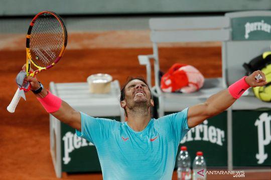 Tenis French Open: Nadal  melaju ke semi final setelah kalahkan Jannik Sinner
