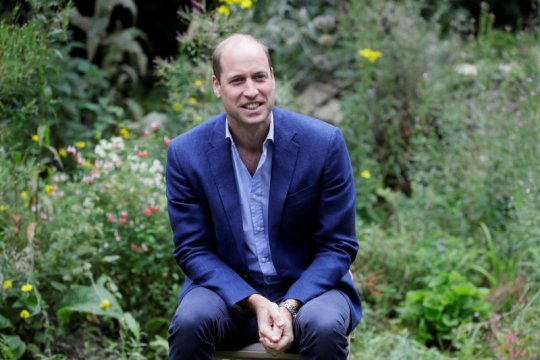 Pangeran William luncurkan penghargaan lingkungan global