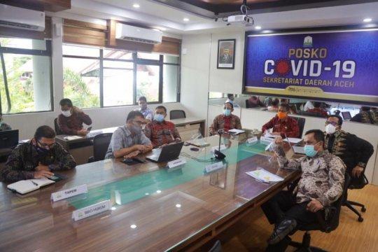 Pemerintah Aceh gelar rapat koordinasi optimalkan penanganan COVID-19