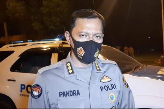 Polisi amankan 11 orang setelah aksi massa yang ricuh di Lampung