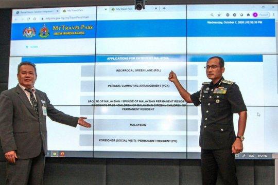 Imigrasi Malaysia luncurkan MyTravelPass untuk WN dan WNA