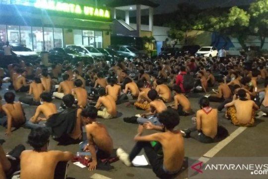 Polres Jakarta Utara amankan 296 pelajar hendak demo UU Cipta Kerja