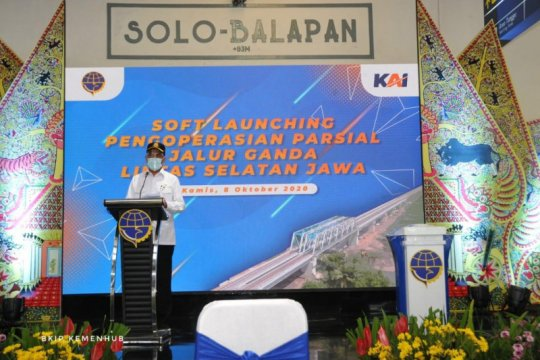 Jalur ganda KA Cirebon-Jombang sepanjang 550 km akhirnya tersambung