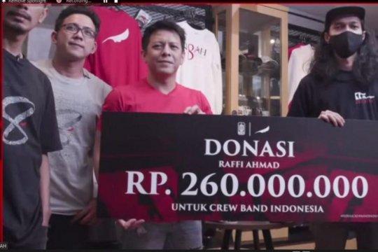 Noah kumpulkan donasi Rp700 juta untuk kru band Indonesia