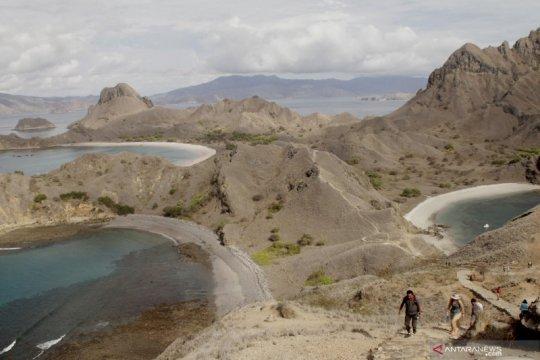 Turun drastis, kunjungan ke Pulau Komodo tahun lalu hanya 51.618 orang