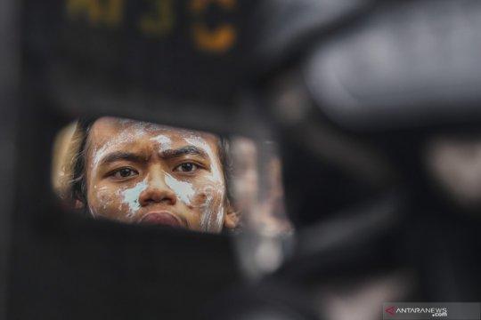 Polda Metro Jaya berharap aksi massa bisa dibubarkan Kamis malam