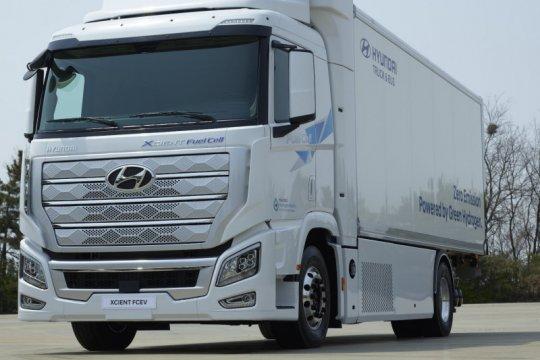 Hyundai kirim tujuh truk sel bahan bakar pertama ke Swiss