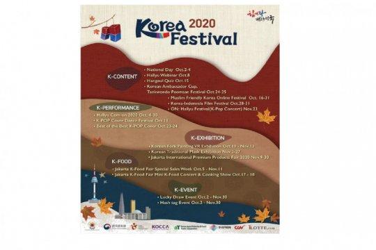 """""""K-Festival"""" tahun ini digelar daring dan luring"""