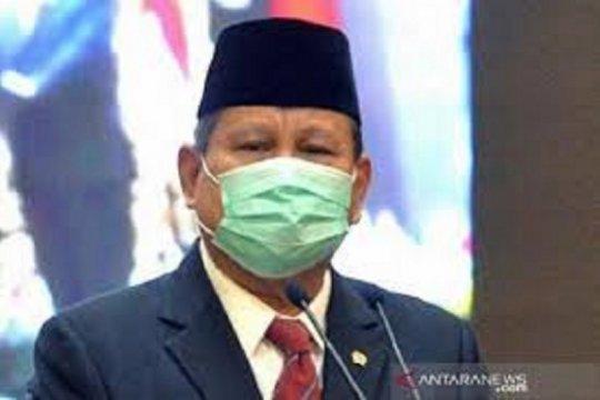 Menhan Prabowo sebut kerusuhan demo UU Ciptaker ditunggangi asing