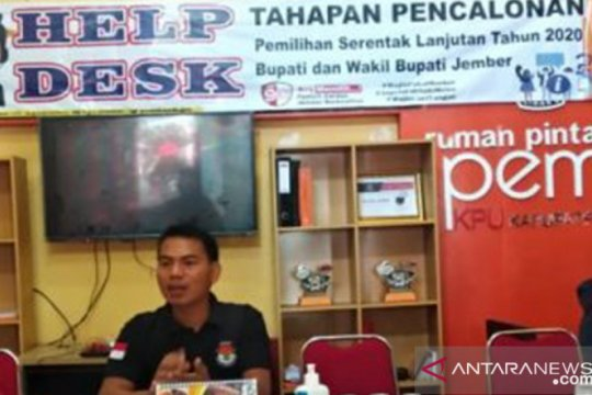 KPU Jember coret peserta pilkada tidak laporkan sumbangan kampanye