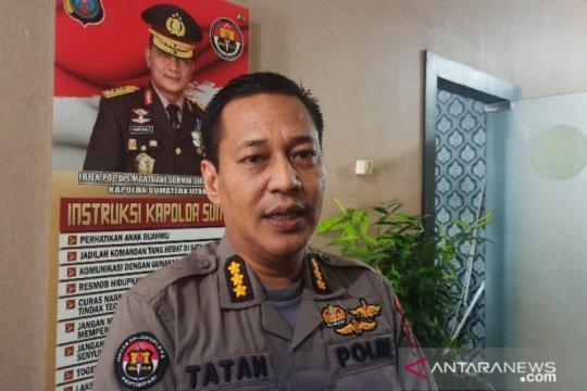 Polisi tetapkan tiga tersangka kericuhan demo UU Ciptaker di Medan